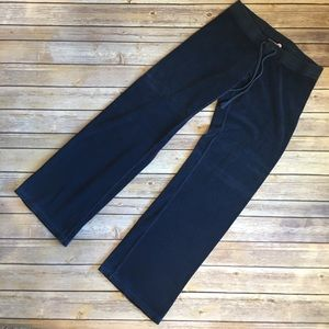 JUICY COUTURE TERRY PANTS IN NAVY